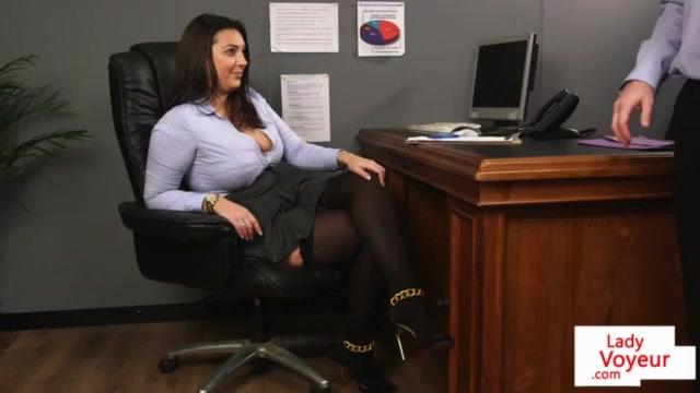 fucking in office